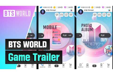[BTS WORLD] Game Trailer - YouTube