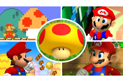Evolution of Mega Mushrooms in Mario Games (2000-2017 ...