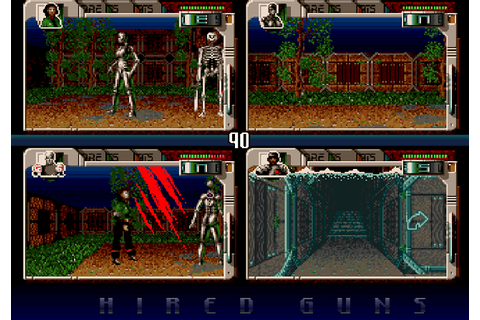 Indie Retro News: Hired Guns - An Amiga Sci-fi experience ...