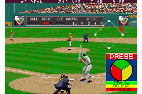 Relief Pitcher - Videogame by Atari Games