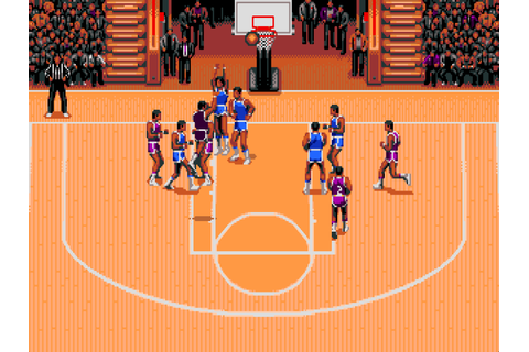 TV Sports: Basketball : The Company - Classic Amiga Games