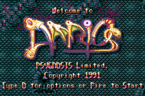Amnios (1991) by Flying Chicken Amiga game
