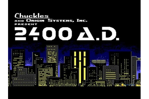 2400 A.D. gameplay (PC Game, 1987) - YouTube