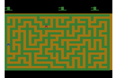 Game review: Atari's Maze Craze for #Atari 2600 - More ...
