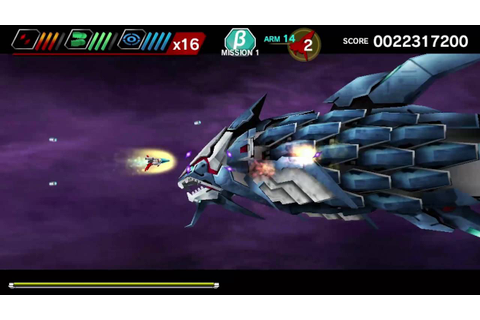 Dariusburst Chronicle Saviours: SEGA DLC Walkthrough - YouTube