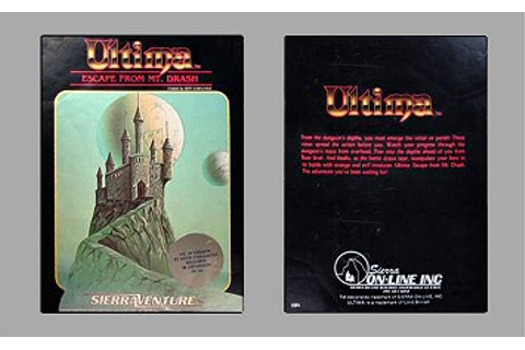 Ultima Collectors Guide - Escape from Mt. Drash - Vic20