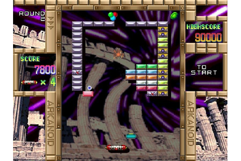 Arkanoid Returns 2000 (1999) by Taito PS game