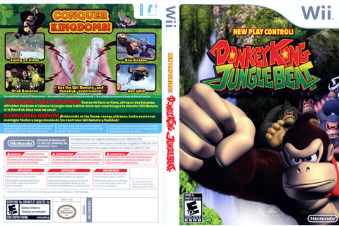 Games Covers: Donkey Kong - Jungle Beat - Wii