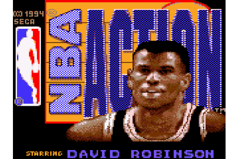 NBA Action Starring David Robinson Download Game ...