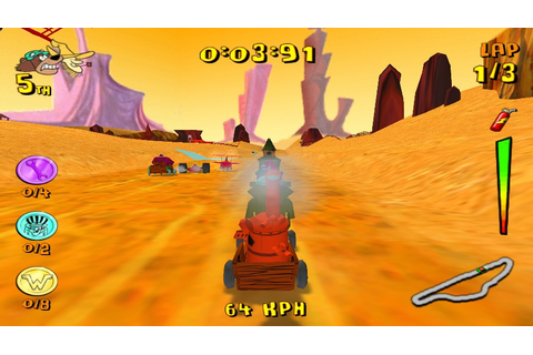 Wacky Races Mad Motors PS2/PCSX2/Damon ISO [29 MB ...