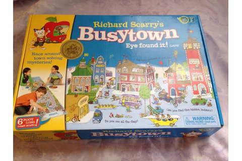 Busytown: Eye Found It ! Childrens board game by Richard ...
