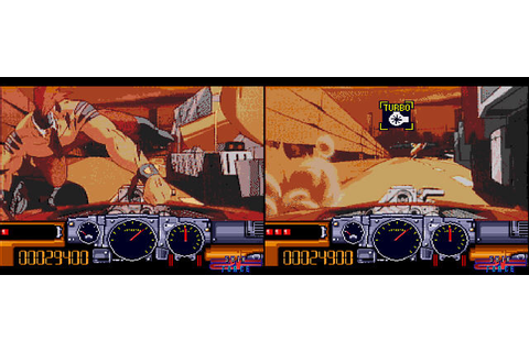 Road Blaster FX / Road Avenger Review | Sega / Shin Force ...