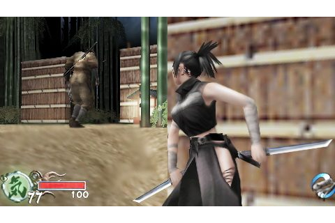 Tenchu: Time of the Assassins (2006) by From Software PSP game