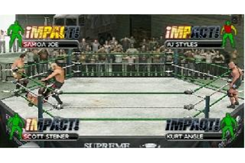 Tna Impact Cross The Line On Qwant Games