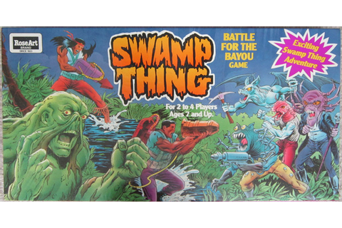 Swamp Thing Board Game : Memory Glands – Funny Nostalgic ...