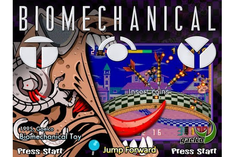 Biomechanical Toy (Arcade) - YouTube