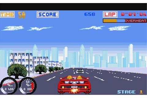 Turbo Out Run Game Download
