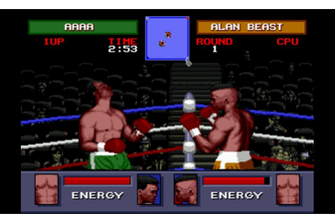 Play Evander Holyfield's Real Deal Boxing • Sega Genesis ...