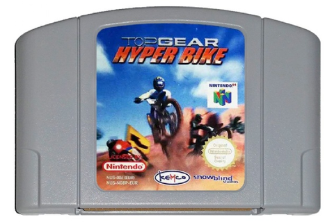 Buy Top Gear Hyper Bike N64 Australia