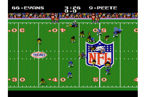 Tecmo Super Bowl (USA) (September 1993) ROM