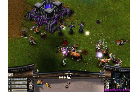 Battle Realms + Winter of the Wolf Full Version PC Game ...