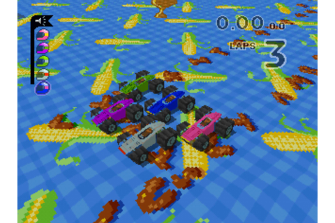 Micro Machines V3 (1997, PlayStation) - GameTripper review