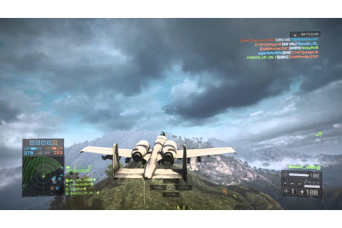 Battlefield 4 a10 warthog gameplay PS4 - YouTube