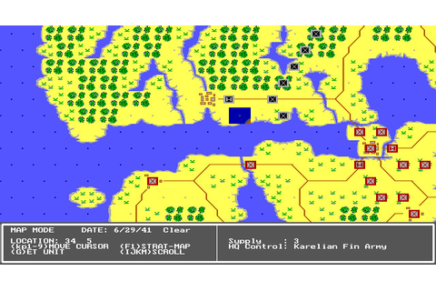 Second Front: Germany Turns East (1990 - DOS). Ссылки ...