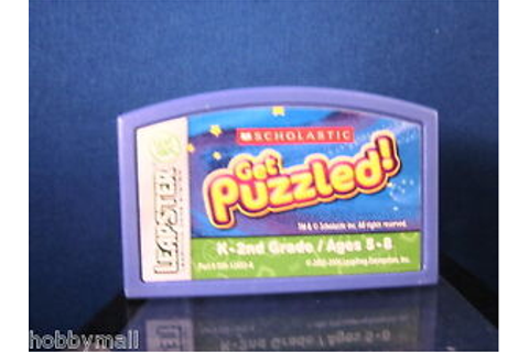 Leapster Scholastic Get Puzzled Video Game 0843120380 | eBay