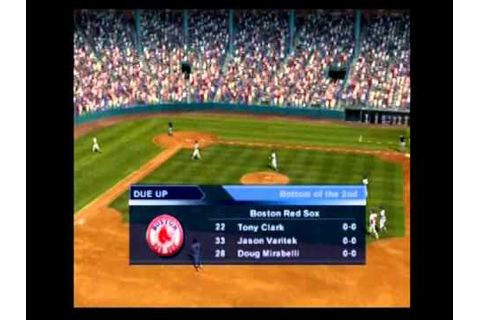 Triple Play 2002 PS2 gameplay sample - YouTube