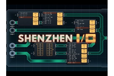 Shenzhen I/O Look - YouTube