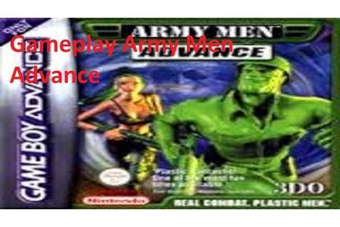 Gameplay Army Men Advance Game Boy Advance - YouTube