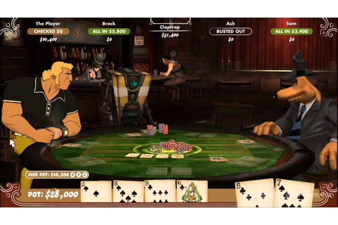 Poker Night 2 Gameplay PC HD - YouTube
