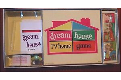 Dream House TV Home Board Game COMPLETE VTG As seen on ABC ...