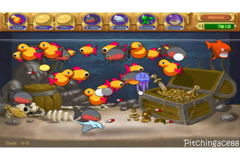 Lets Play Insaniquarium Deluxe - Tank 4-5 - YouTube