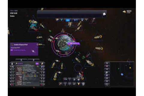 Distant Worlds - Combat and Fleet Operations - YouTube