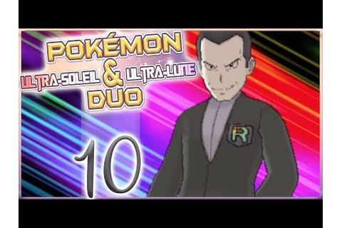 LE BOSS ! //POST-GAME// #10 -DUO- ! [Pokemon Ultra Soleil ...