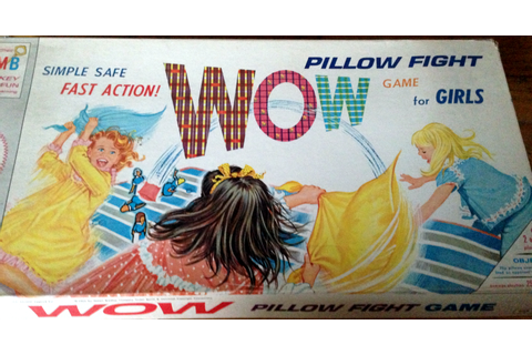 Spin Again Sunday: Wow Pillow Fight Game for Girls, 1964 ...