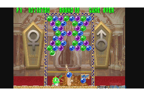 1995 Puzzle Bobble 2 (Arcade) Game Playthrough Video Game ...