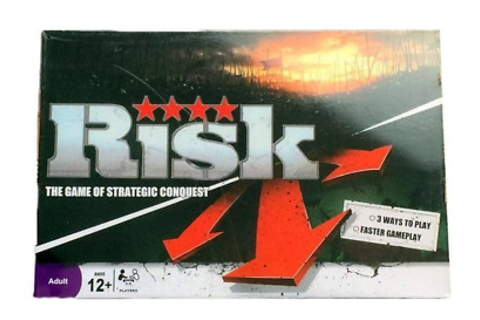 RISK BOARD GAME The Game of Strategic Conquest Newest Risk ...