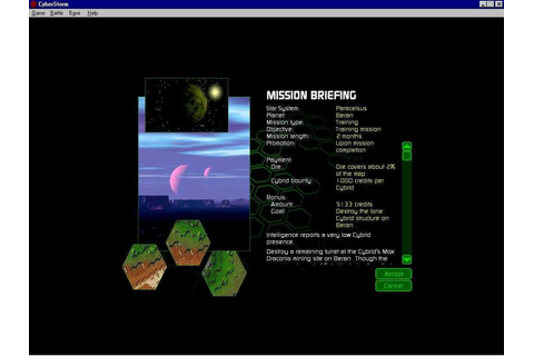 MissionForce: CyberStorm (Windows) - My Abandonware