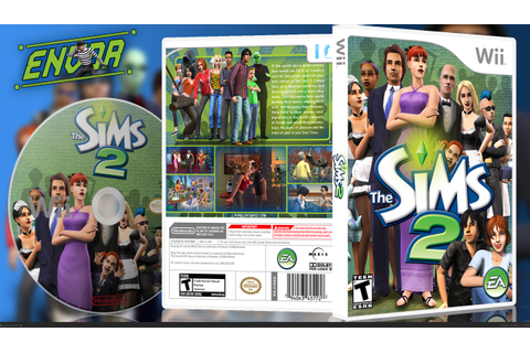 The Sims 2 Wii Box Art Cover by envor