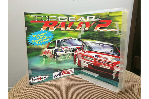 Top Gear Rally 2 N64 video game case | Game Case King ...