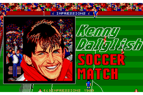 Kenny Dalglish Soccer Match (1989) by Impressions Amiga game