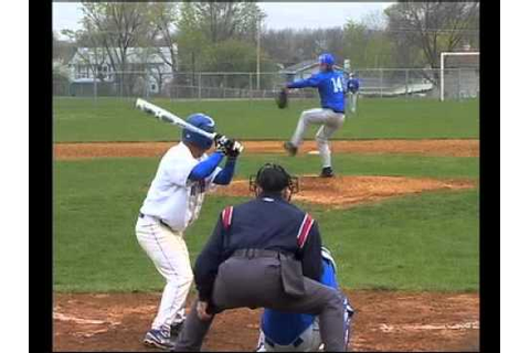 Larkin vs. Hoffman Estates High School Baseball Game 3-31 ...