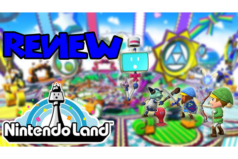 Nintendo Land GAME REVIEW - YouTube
