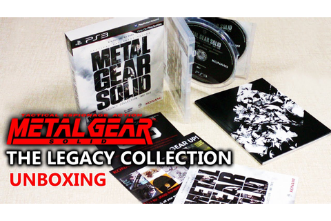 MGS: The Legacy Collection Unboxing (Metal Gear Solid ...