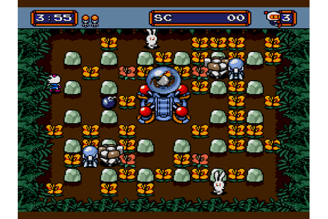 Mega Bomberman (1994) by Hudson Soft Mega Drive game