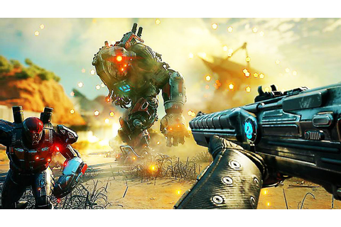 "RAGE 2 ""Weapons and Abilities"" Gameplay (2019) PS4 / Xbox ..."