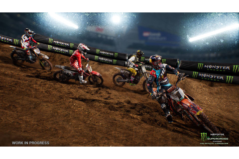 Released: Supercross - The Game | RaceDepartment